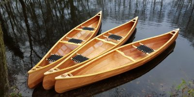 wooden canoe for sale England UK