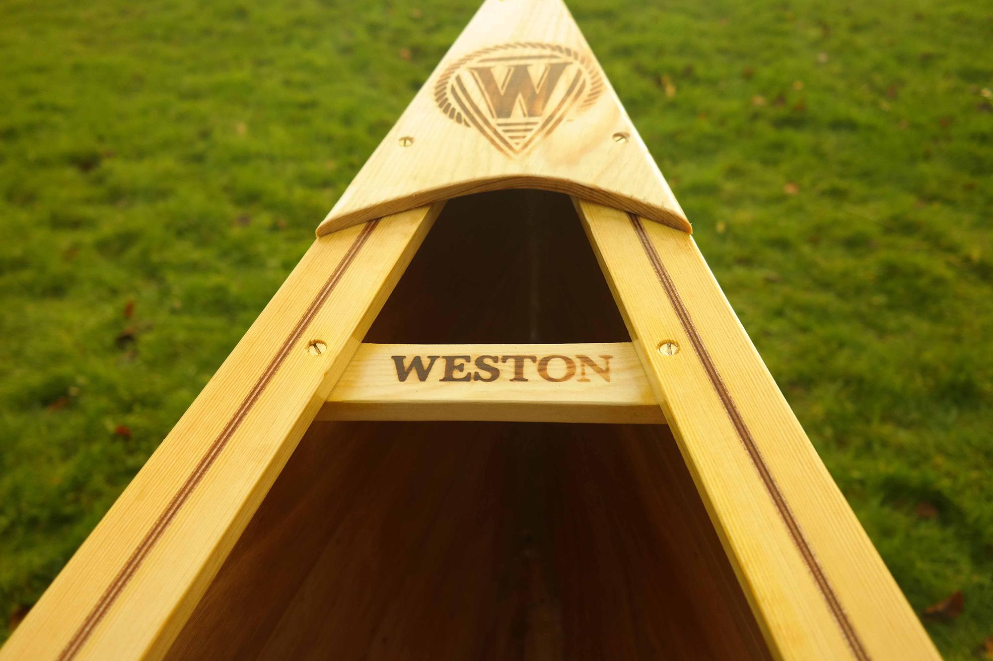 Weston 149 Wooden Canoes Handmade In Norfolk